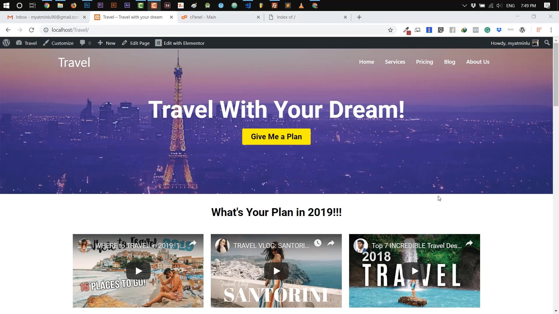 Localhost-website-ကို-အွန်လိုင်းပေါ်သို့-လွှင့်တင်နည်း