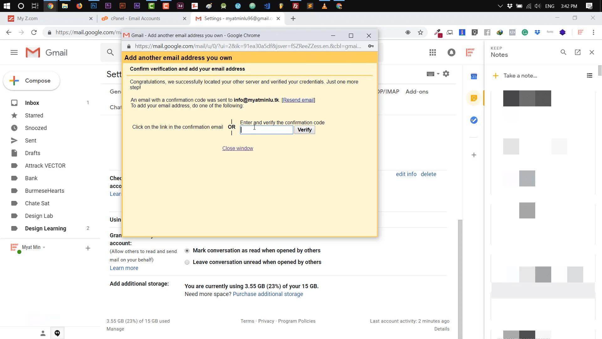 Webmail-ကို-Gmail-နှင့်-တွဲဖက်အသုံးပြုပုံ