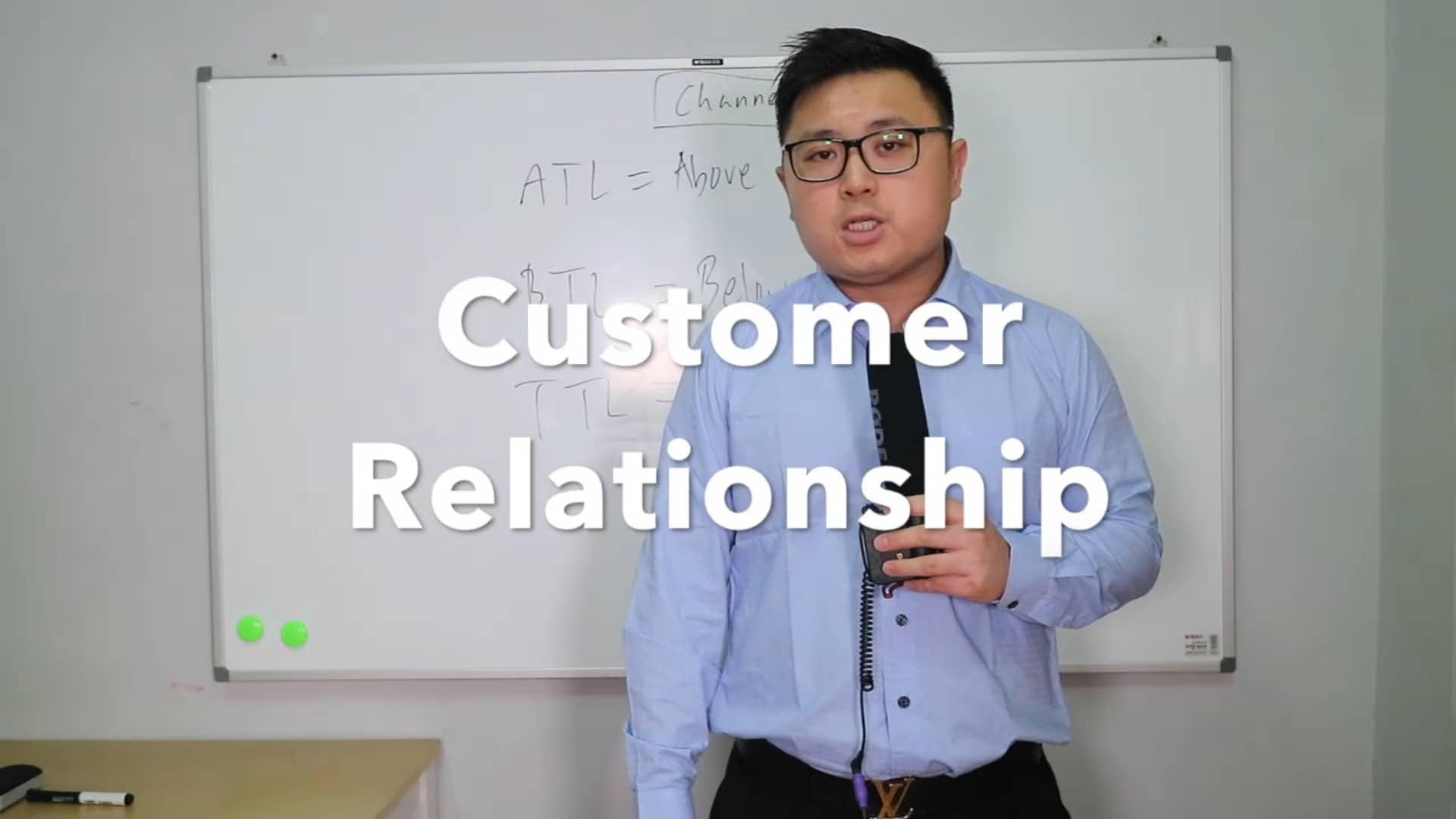7. customer relationship - Toe Tet