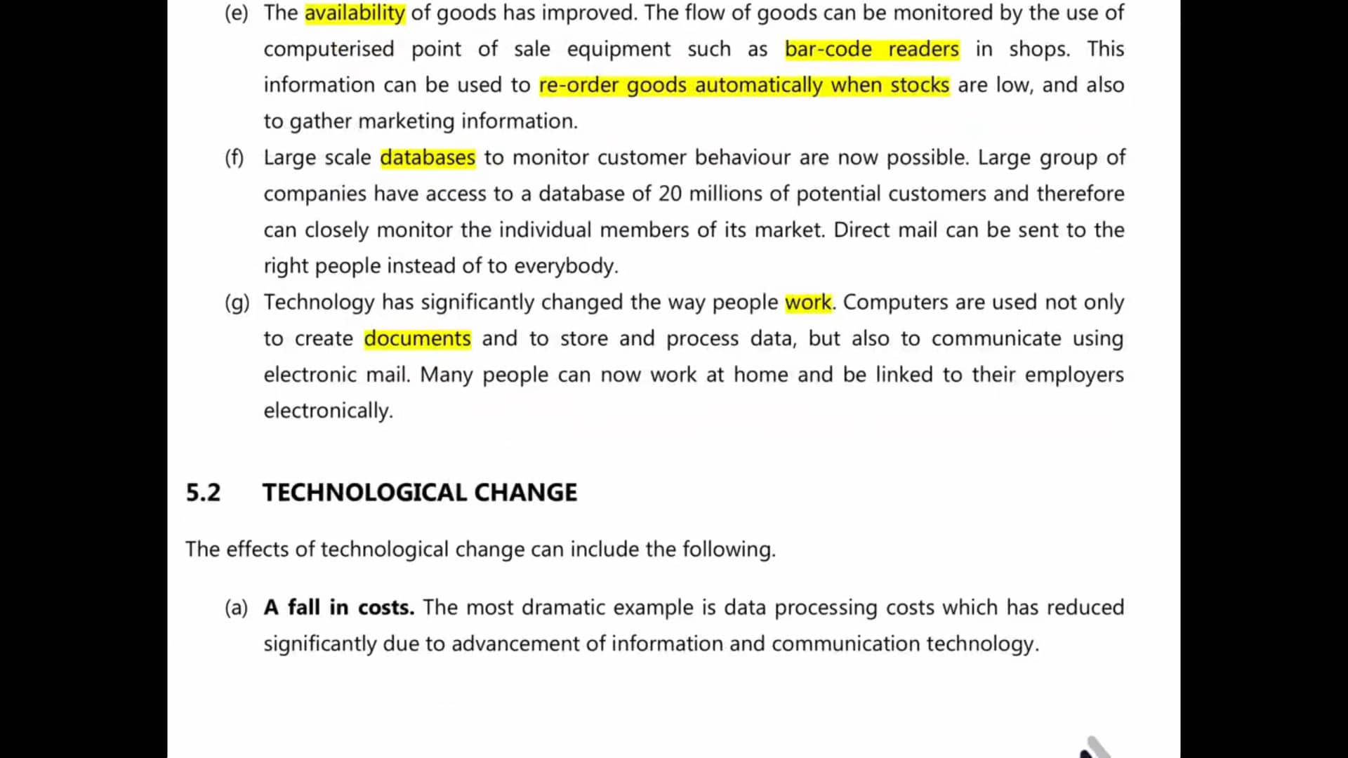 Ch 4 -Technological factor