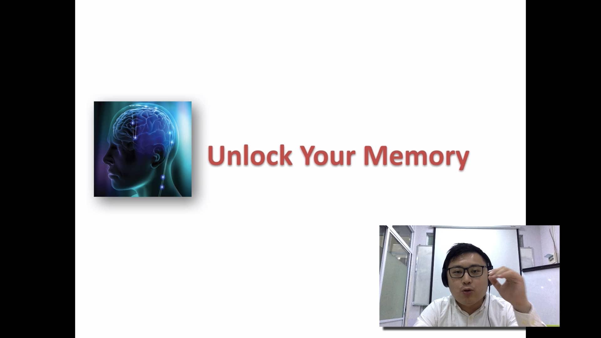 1. Memory Training Intro