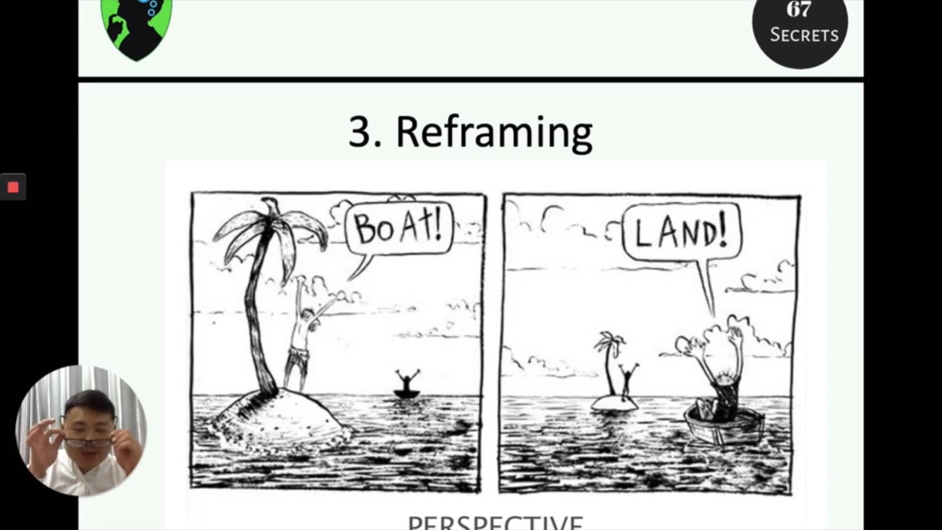 3. Reframing
