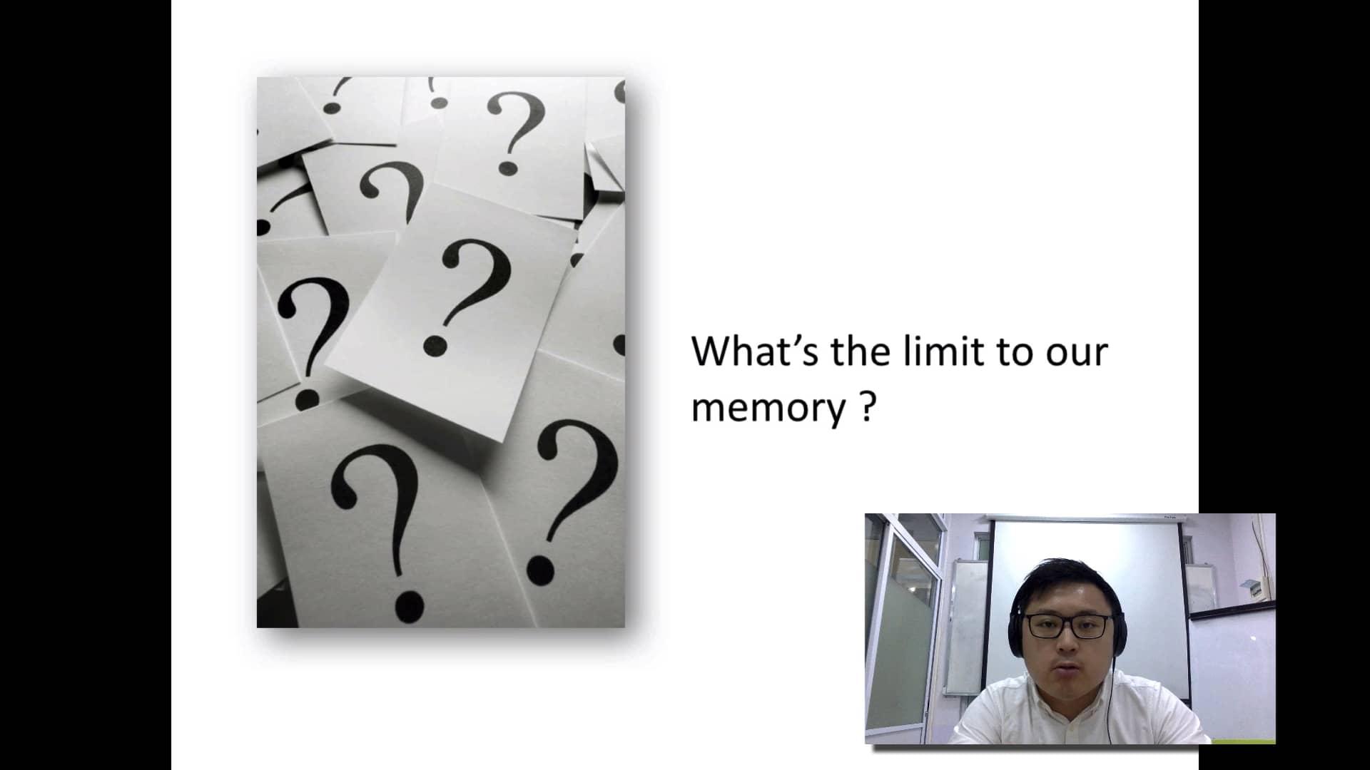 4. Limits of human memory