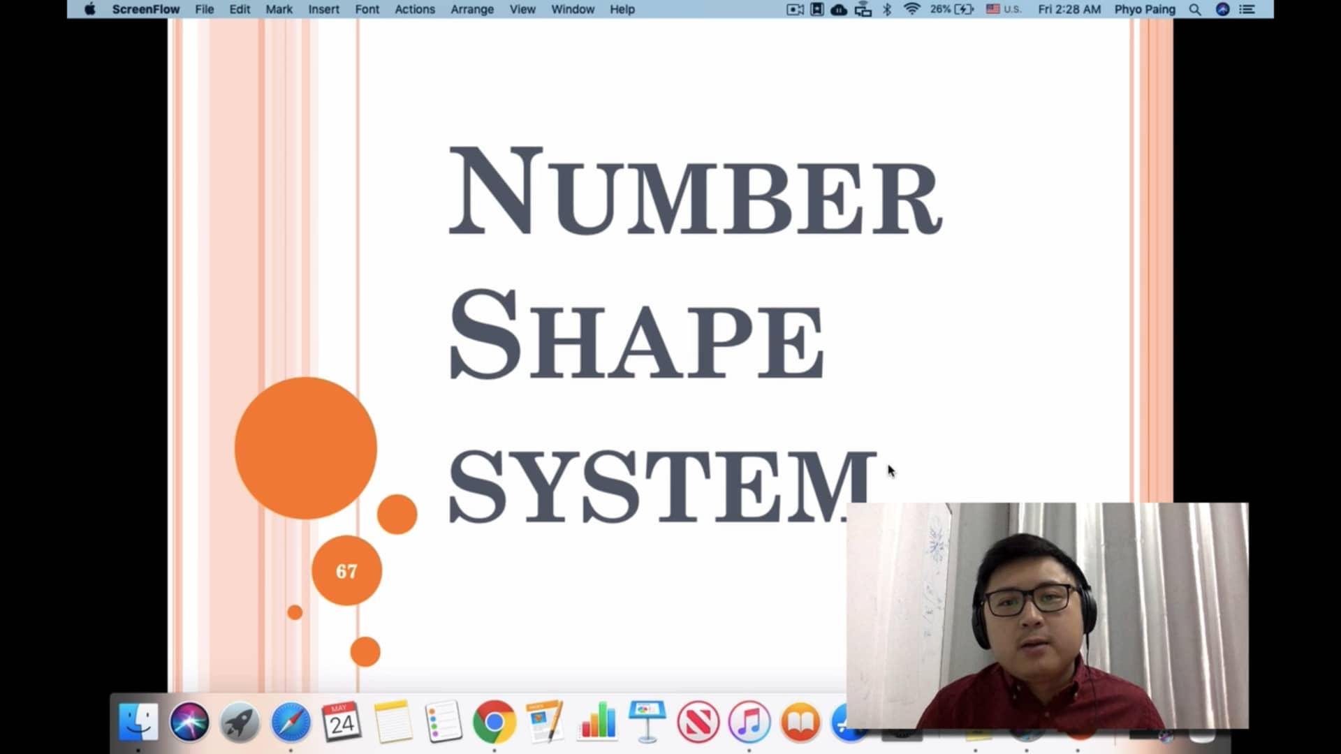 7. number shape system