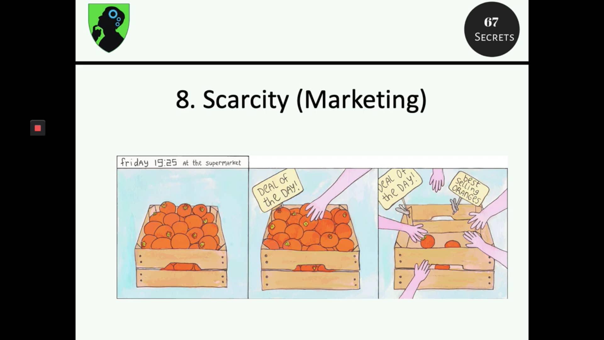 8. Scarcity Marketing