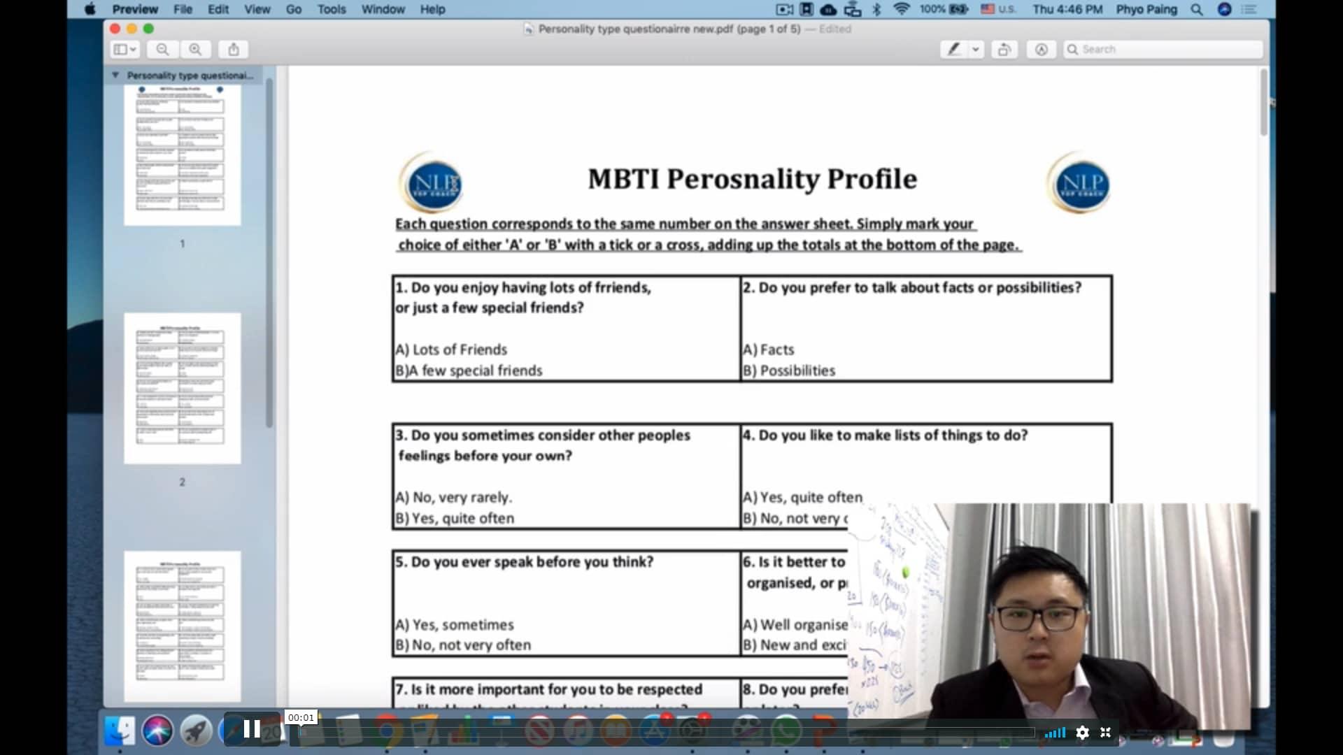004 MBTI Personality Test 4