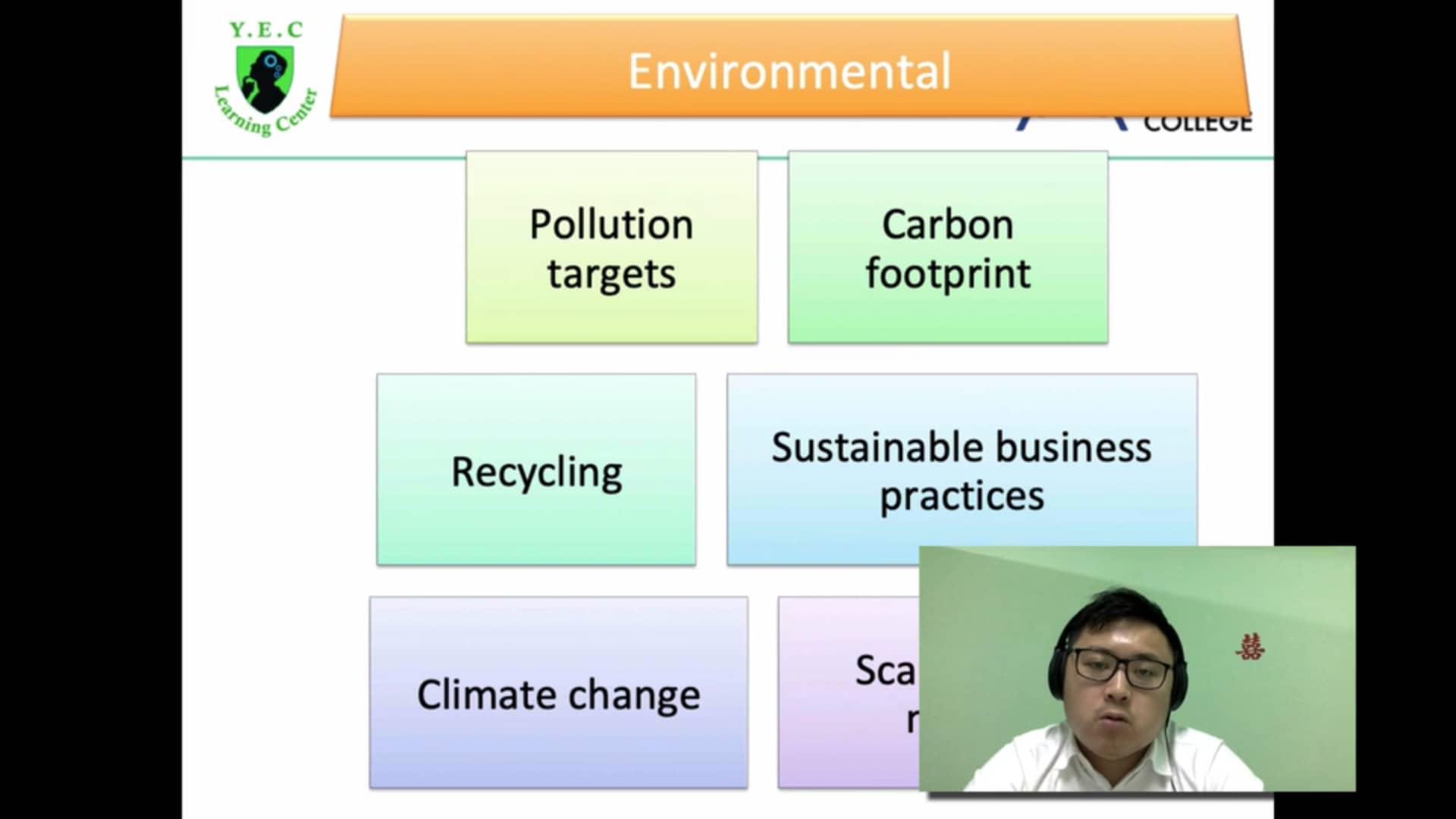 Environmental Factor (BE 7)