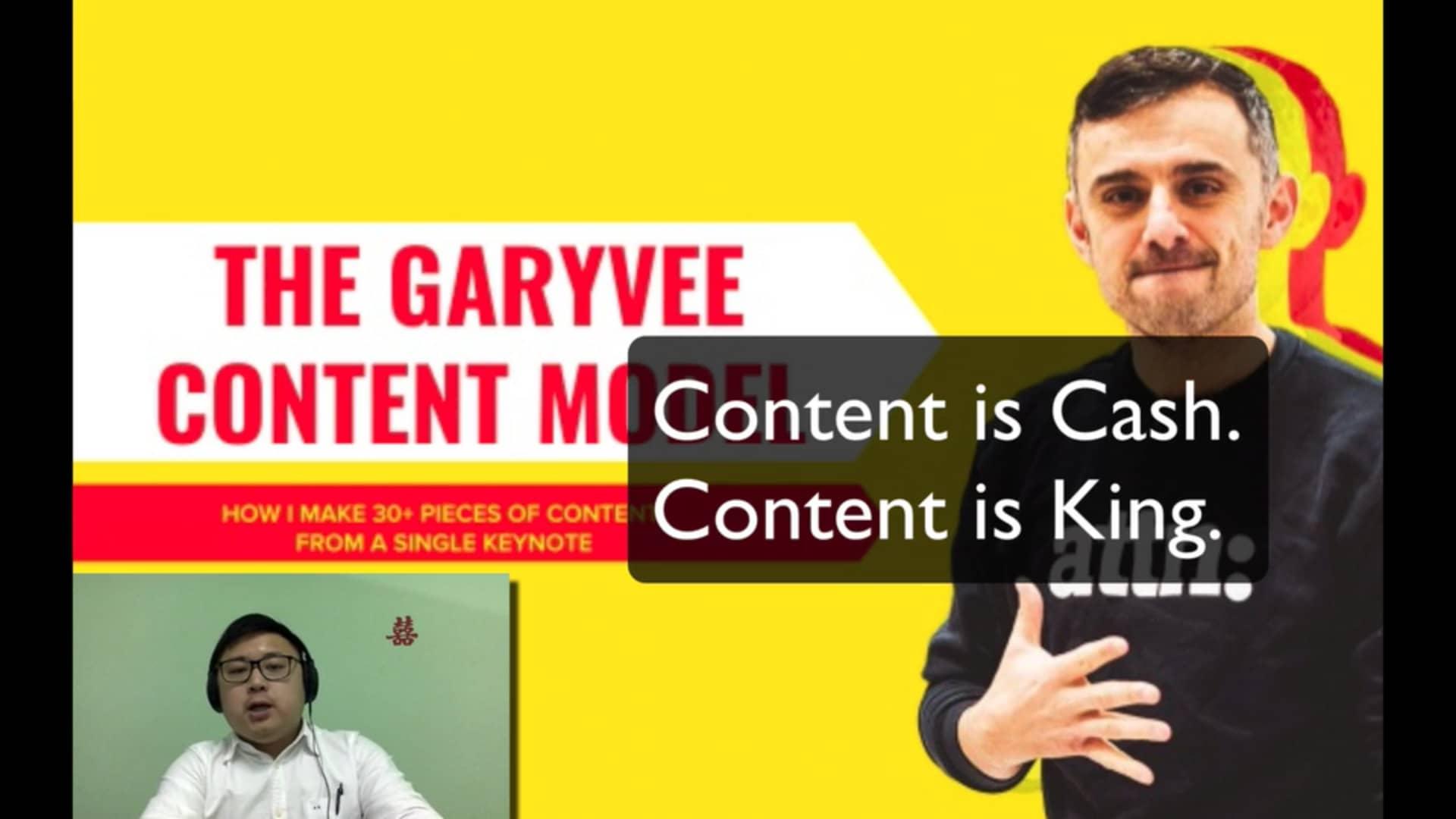Garyvee Content Model
