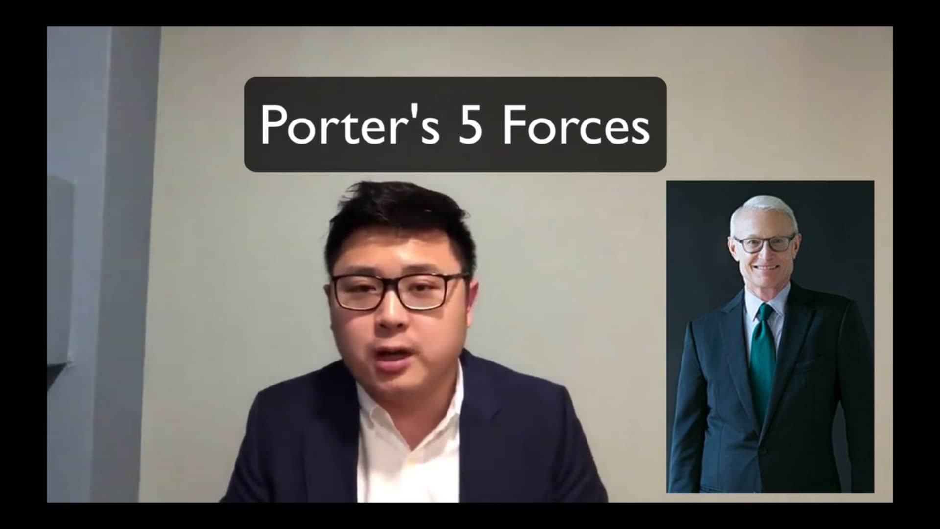 Porter's 5 forces BE13