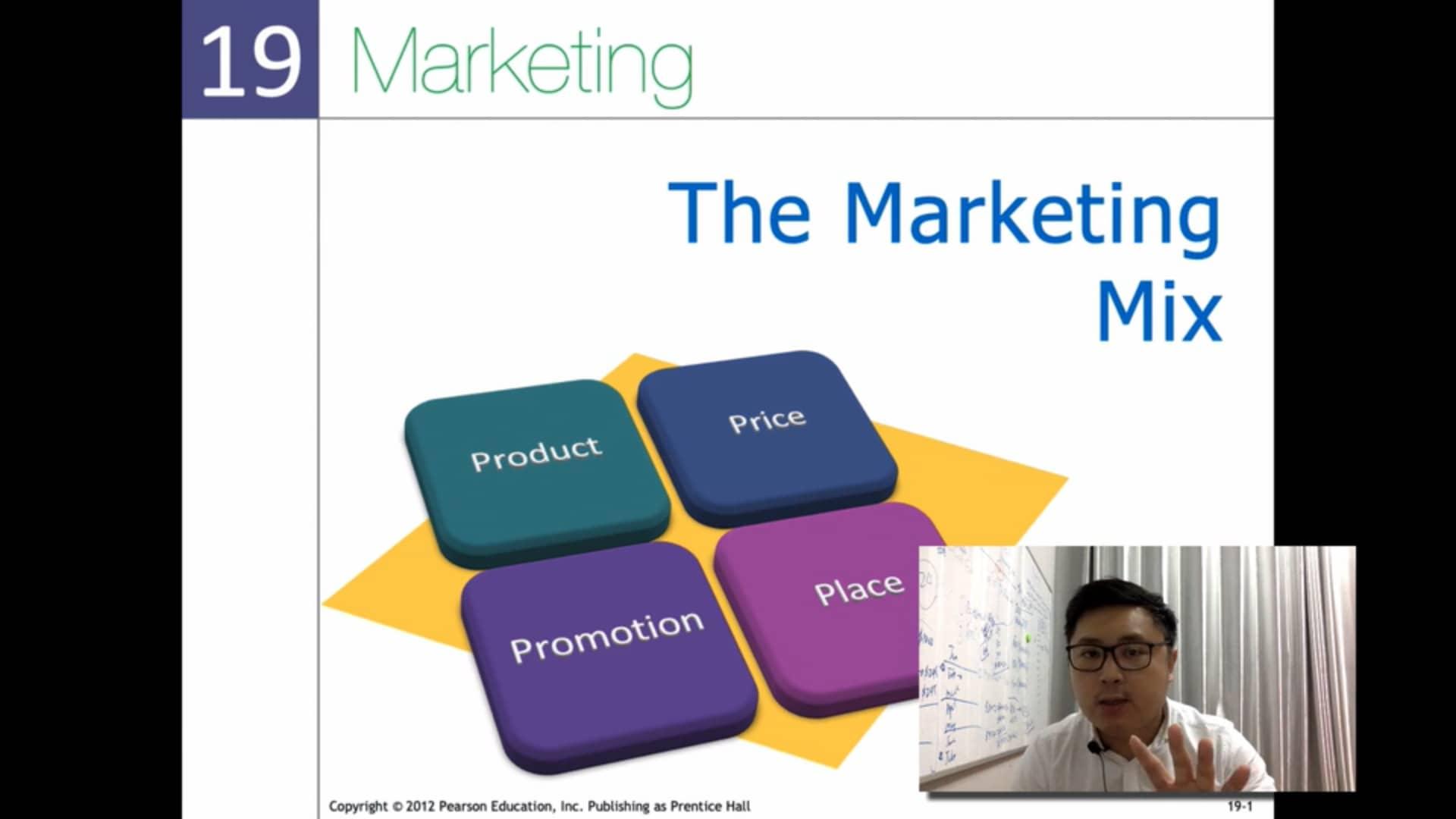 Marketing mix COC Marketing 4