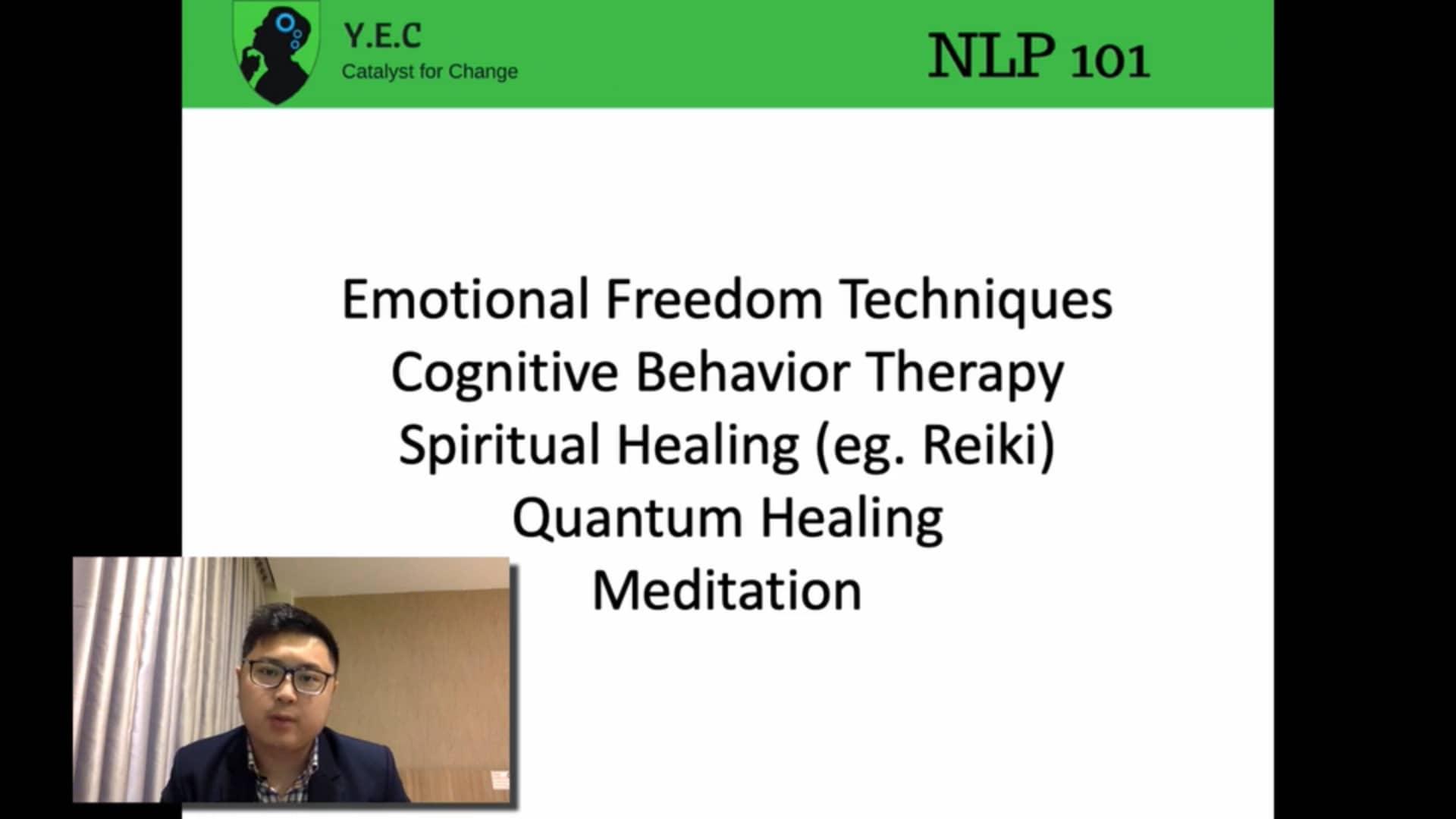 nlp 3 - relieve negative emotion