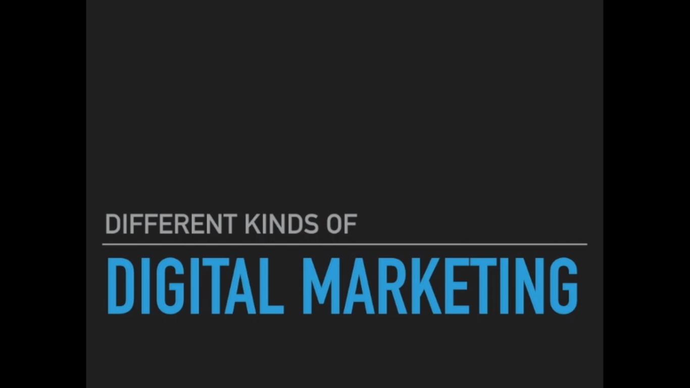 1. Different Kind of Digital Marketing