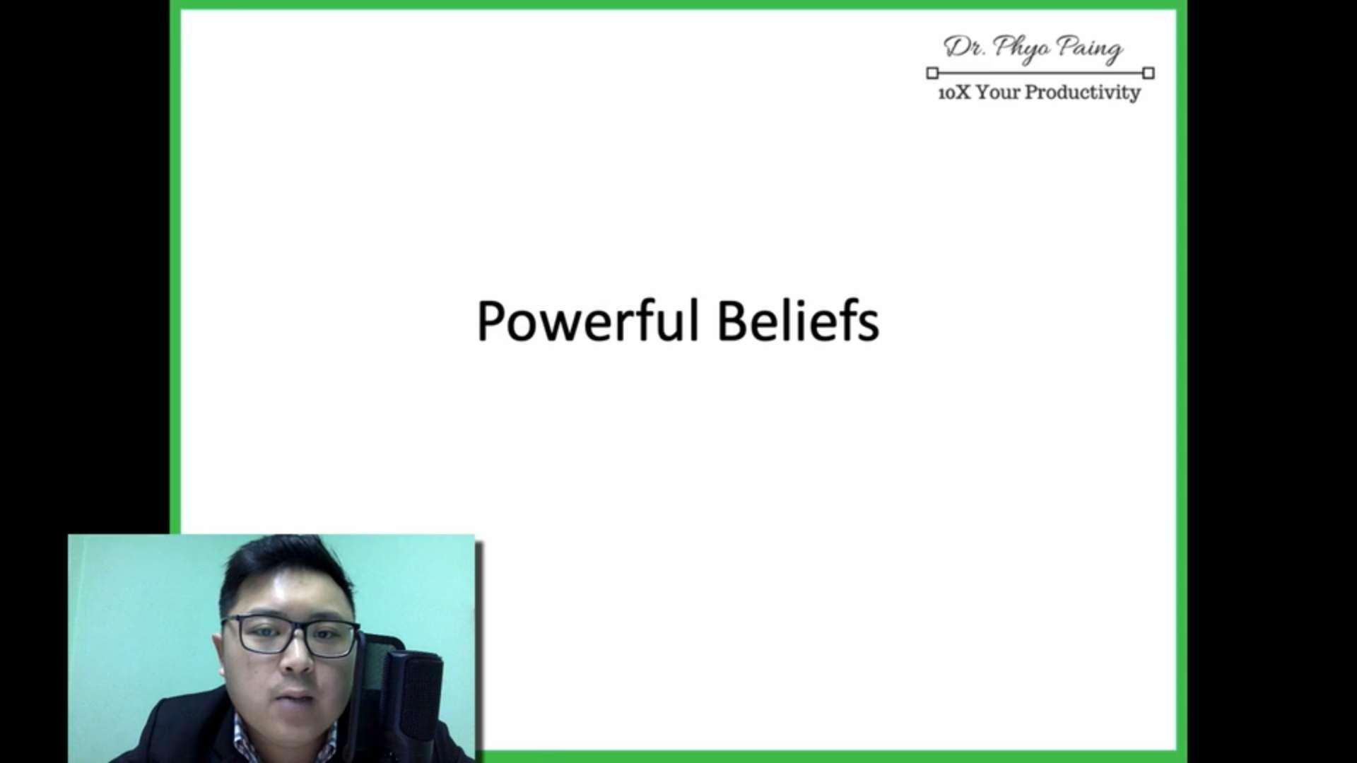 10 Powerful belief 1