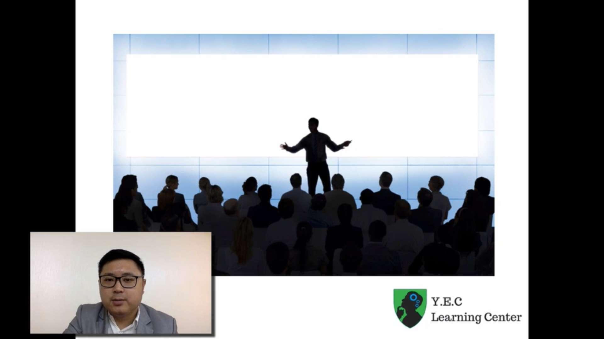 14. Effective Presentation Skills