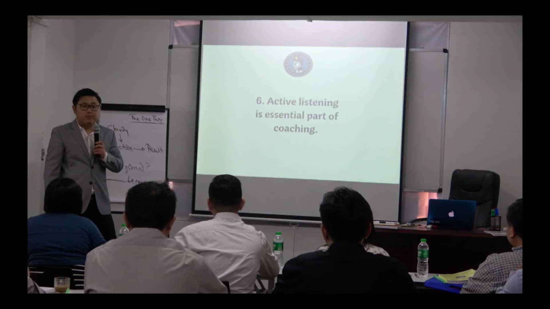 6 Active listening