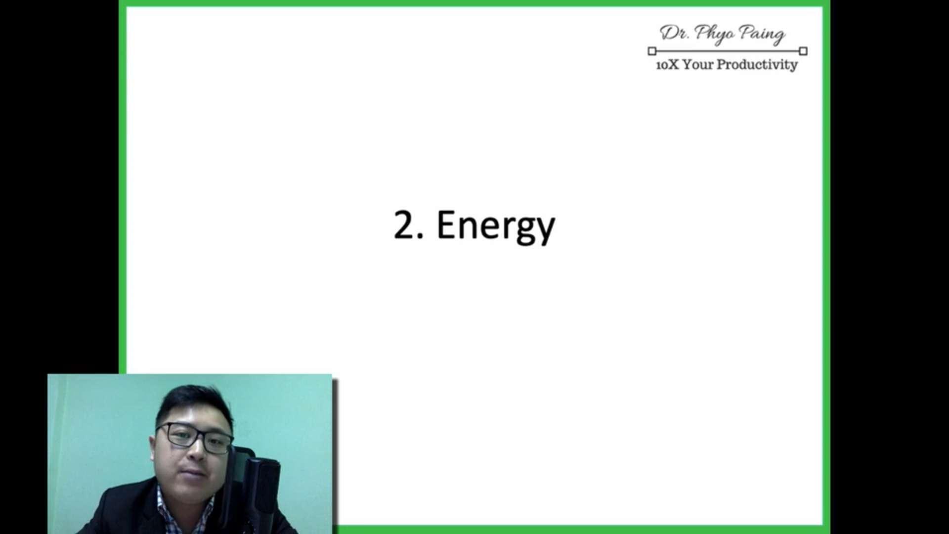 7 Energy (respiration)