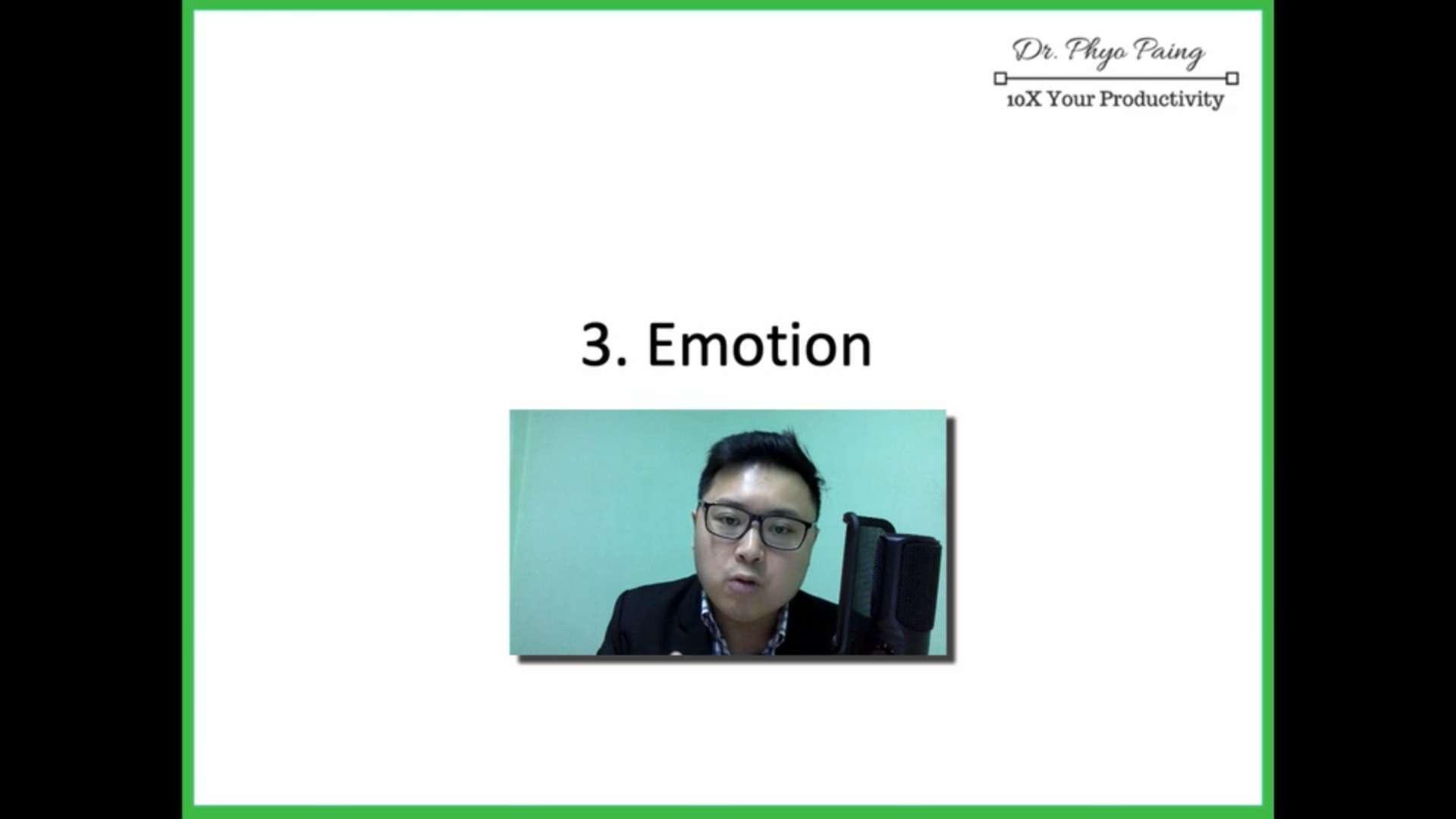 9 Emotion (4 negative behavior)