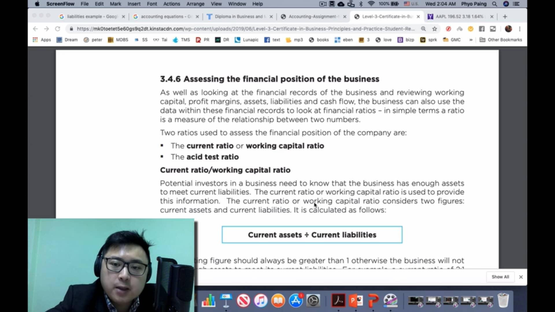 9. Financial Ratios