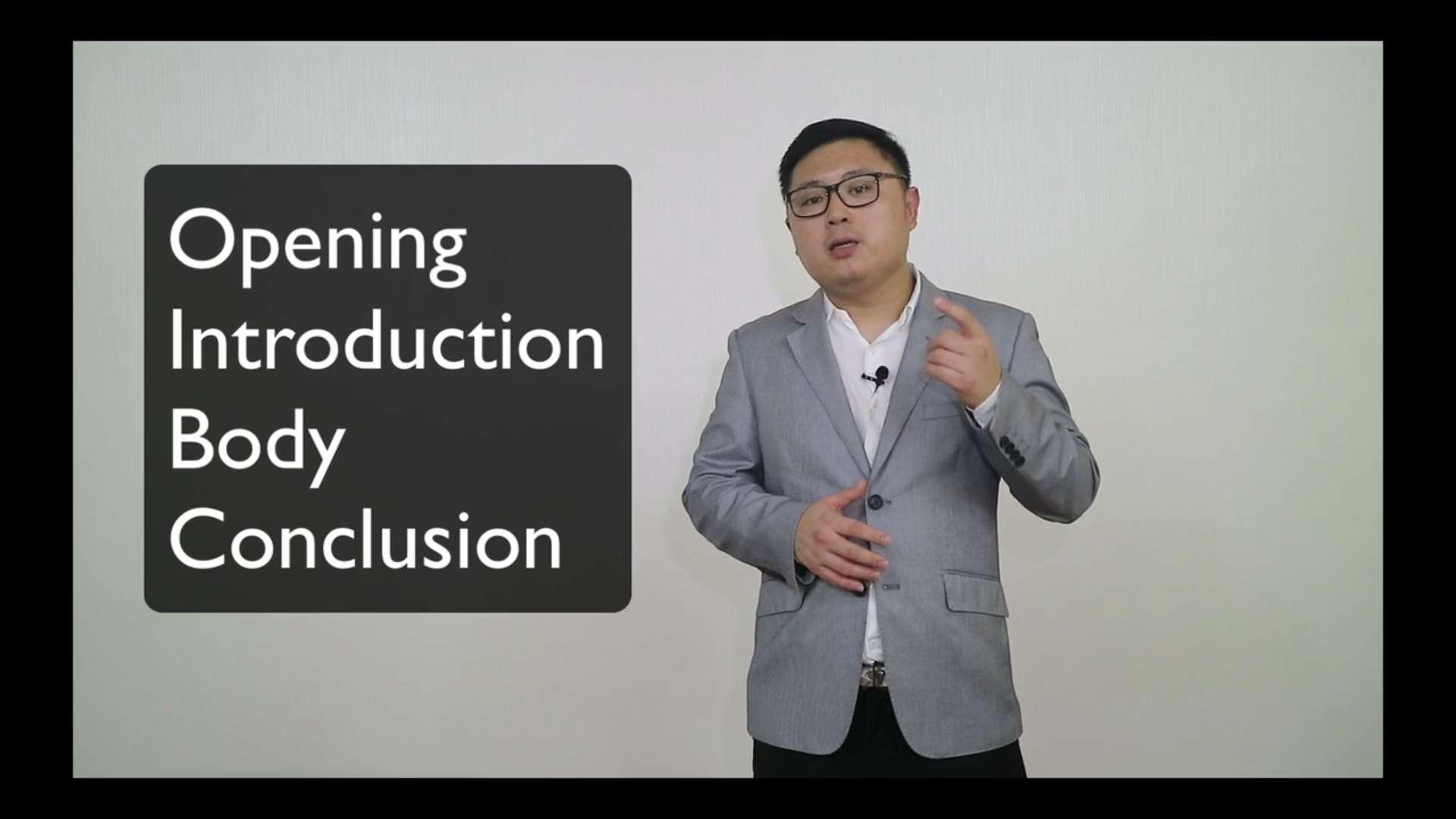 9. Presentation Flow