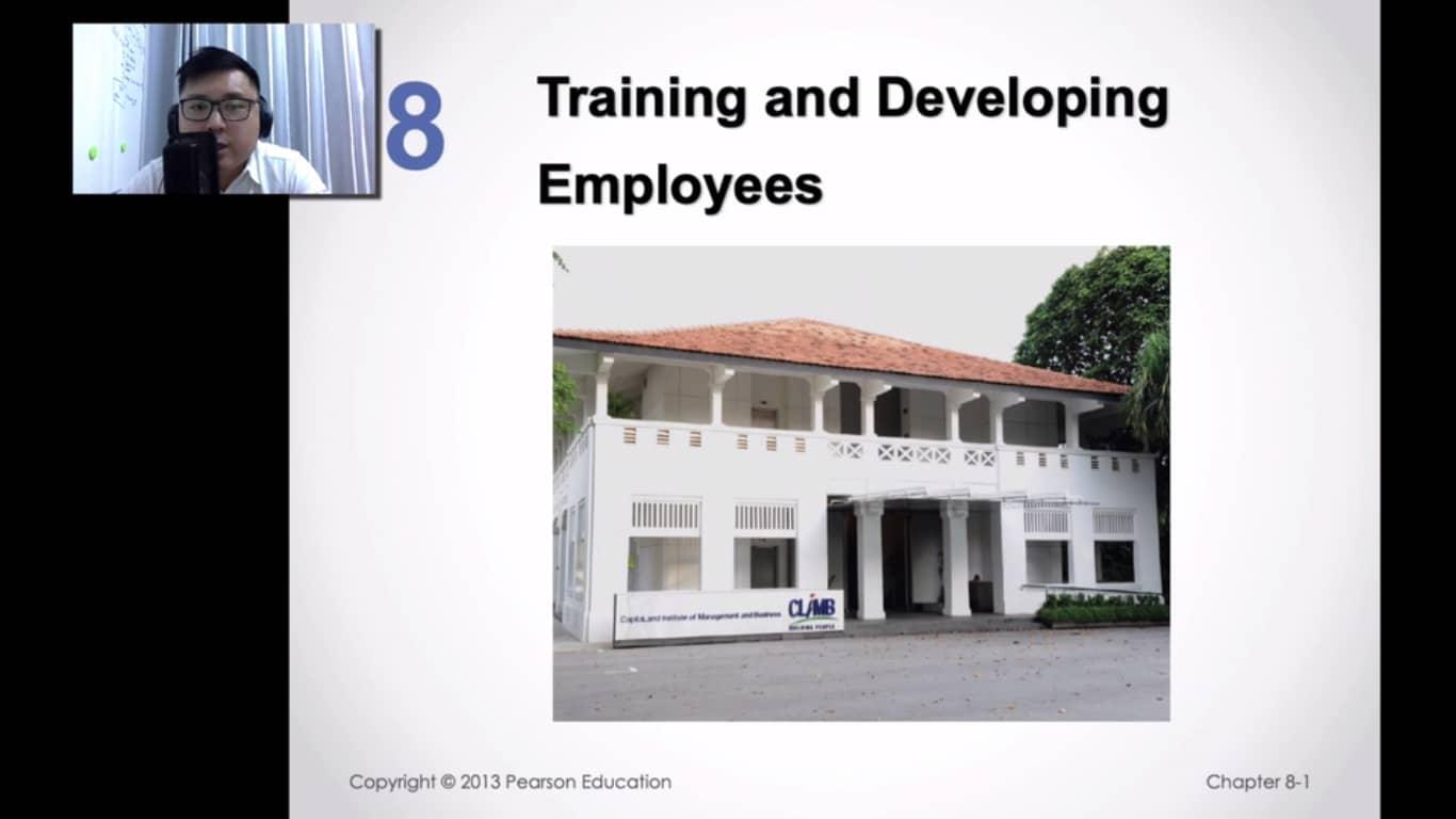 Training and Development HR 8