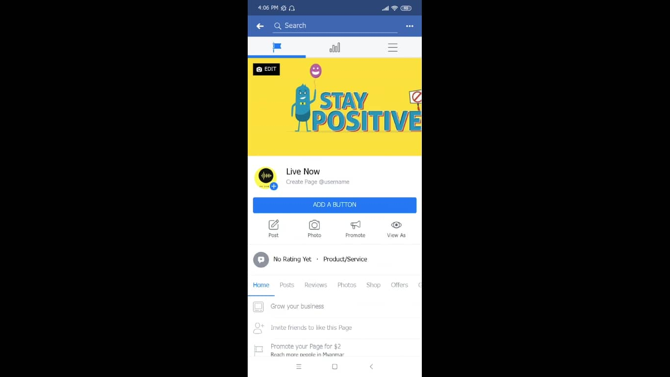 2 setting up messenger on android