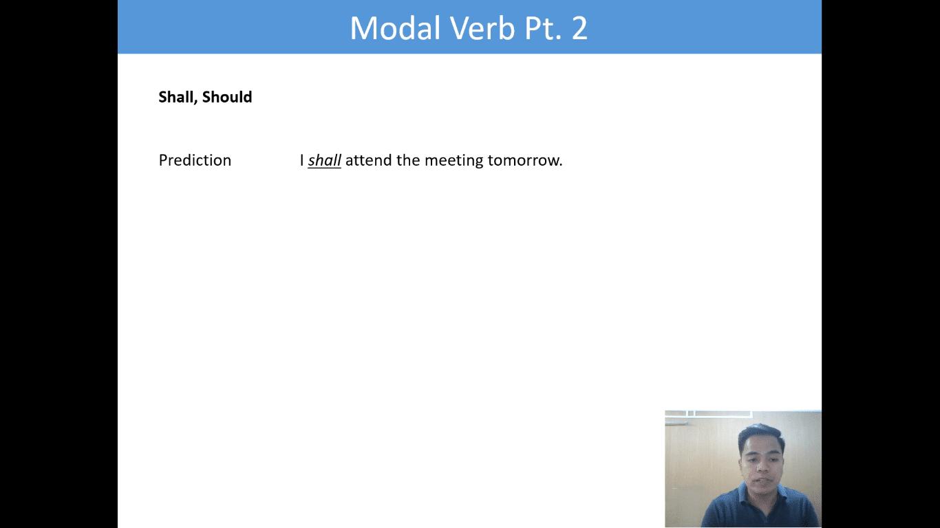 Lesson(12)Modal verb Pt2