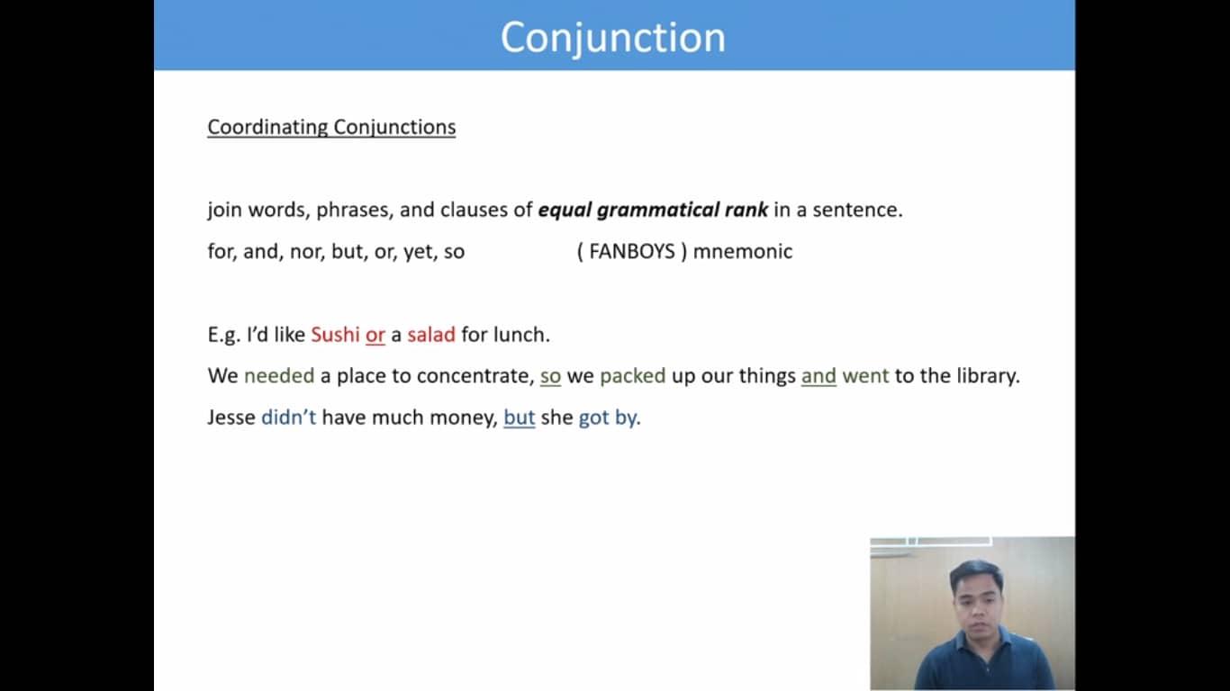 Lesson(16)Conjunction