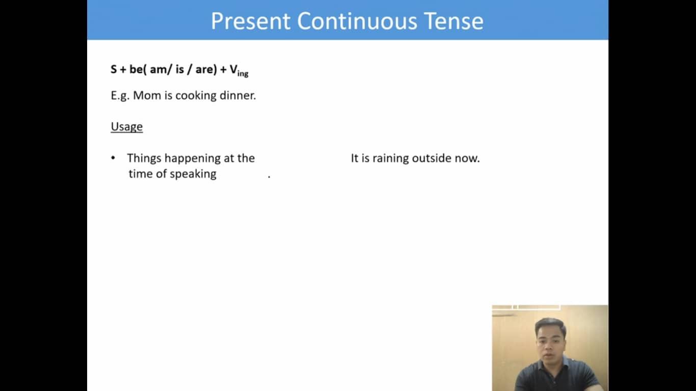 Lesson(24)Present ContinuousTense
