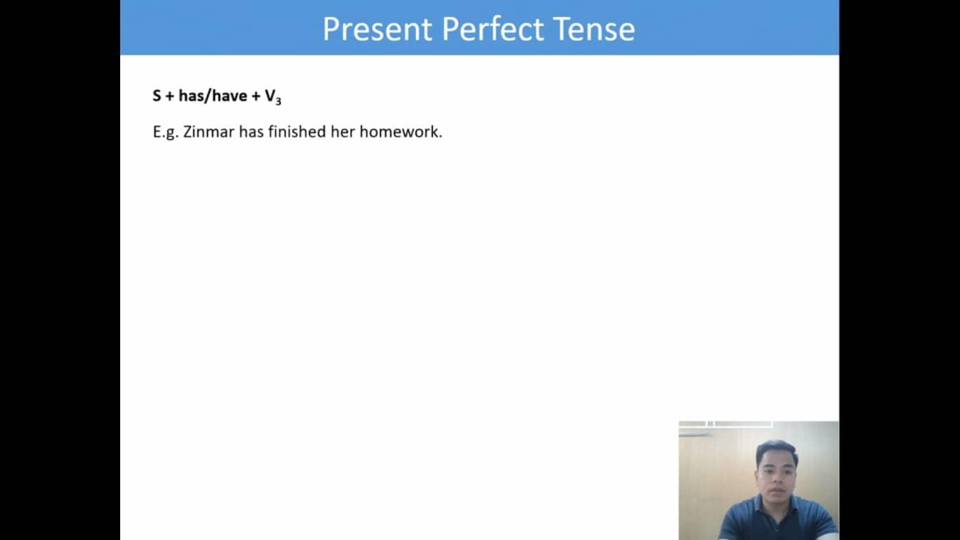 Lesson(27)Present Perfect Tense