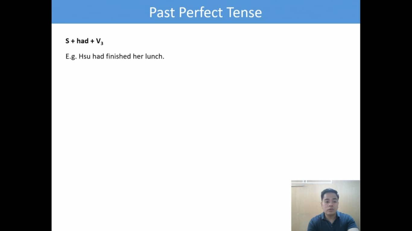 Lesson(28)Past Perfect Tense