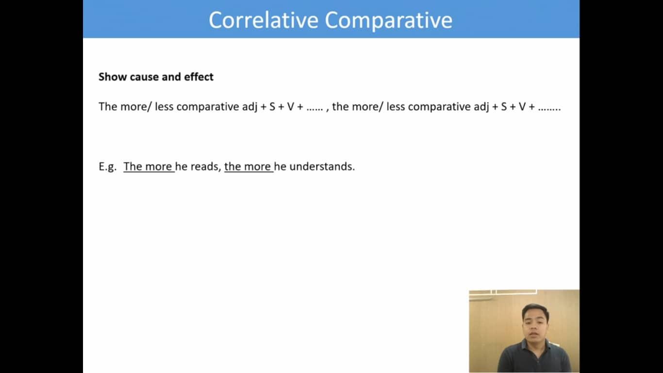 Lesson(37)Correlative Comparative