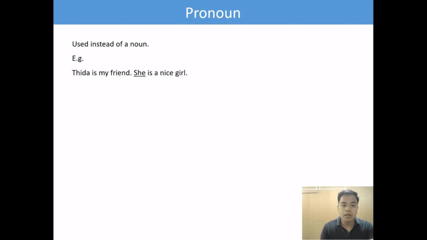 Lesson(5)Pronoun