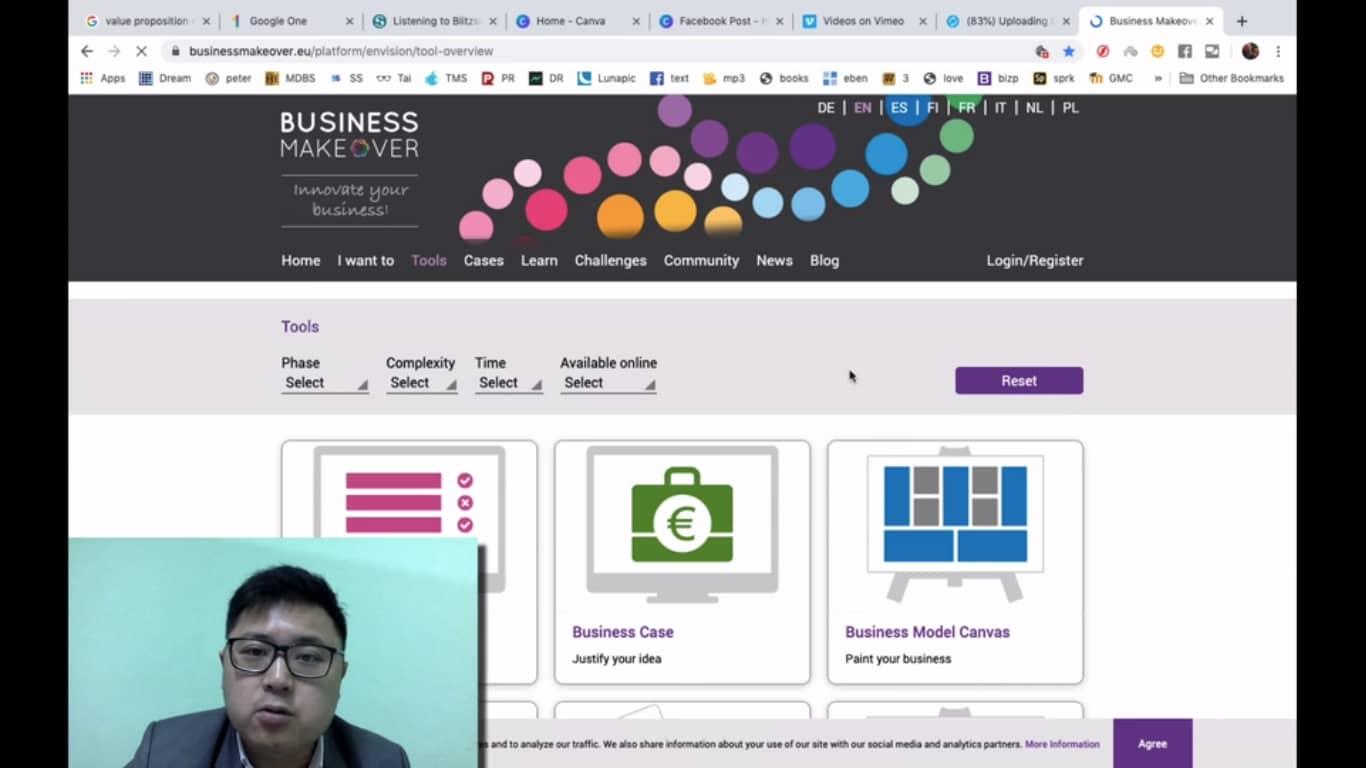 business makeover (bonus - business model canvas)