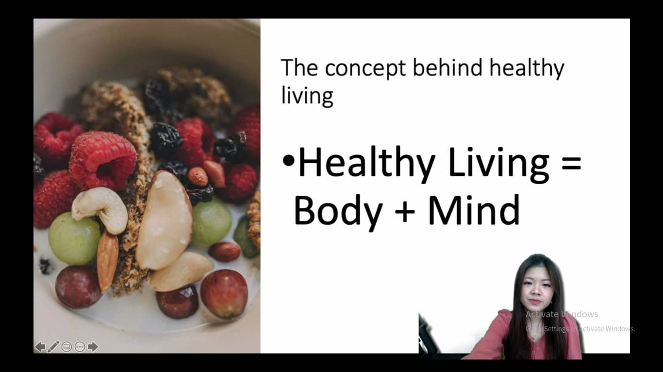 Concept behind Healthy living
