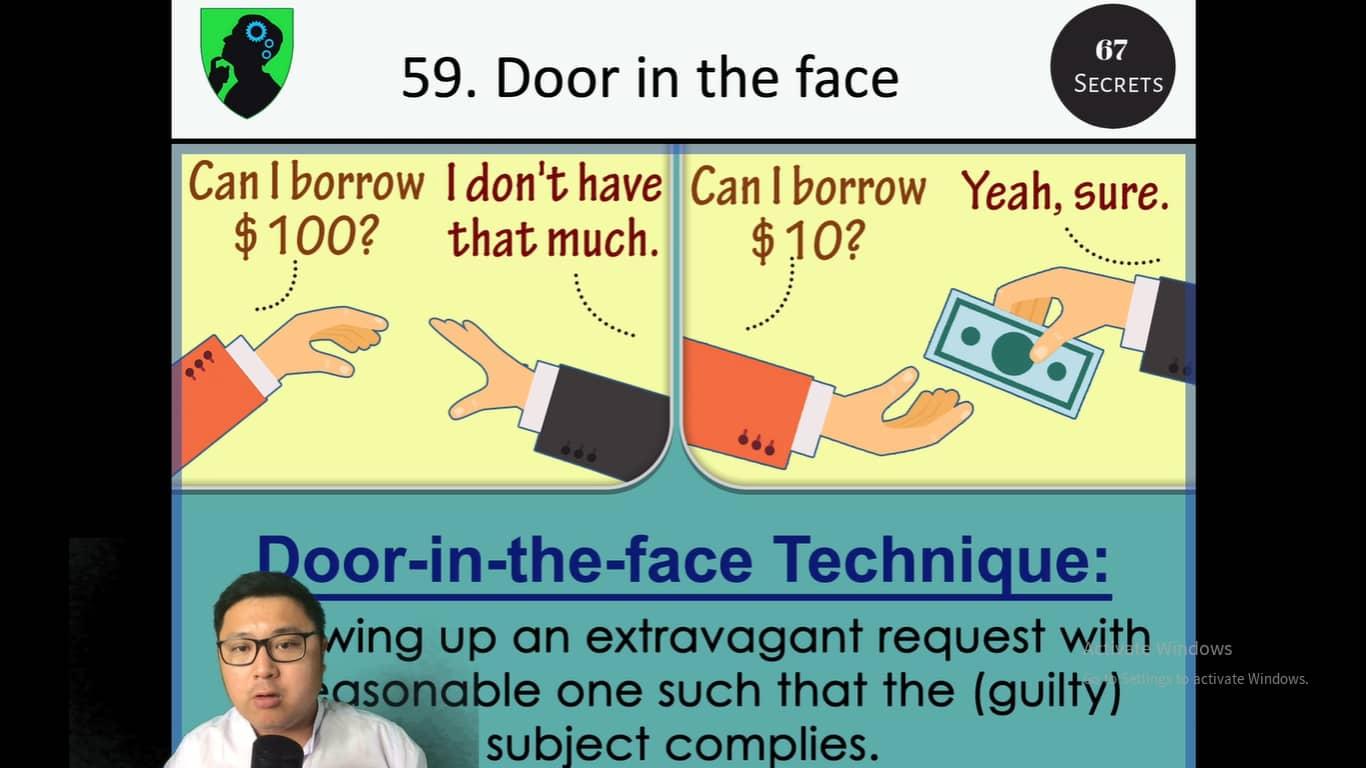 Door in the face technique